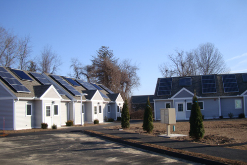 Guilford Housing Authority (GHA) Recently Completed Construction Of Nine  Units Of Additional Elderly Housing At Its Boston Terrace, Guilford  Location.